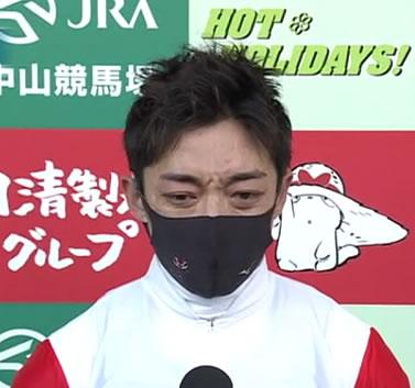 川田将雅さん、中京5Rで今年初勝利